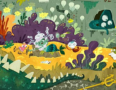 """Puzzle """"Underwater world"""""""
