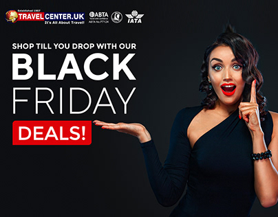 Shop till you drop with our Black Friday deals!