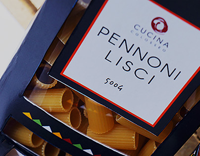 Packaging for Cucina Colosseo