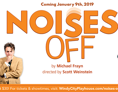 Noises Off - Digital Marketing Collateral