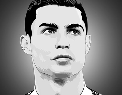 Cristiano Ronaldo Vector Art