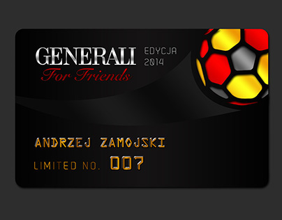 "Generali for Friends – Premium ""club"" cards"