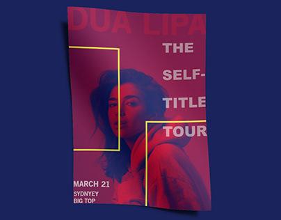Dua Lipa | Duotone Poster