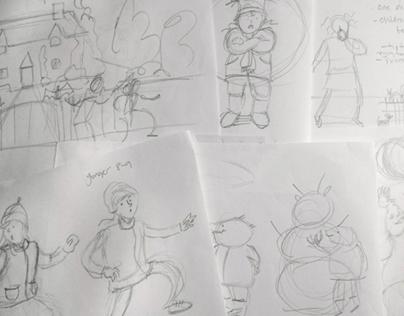Comics and drawings