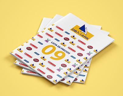 """Diseño y Maquetación Catálogo - """"DBMARK"""""""