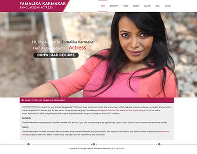 Tamalika Karmakar – Bangladeshi Actress