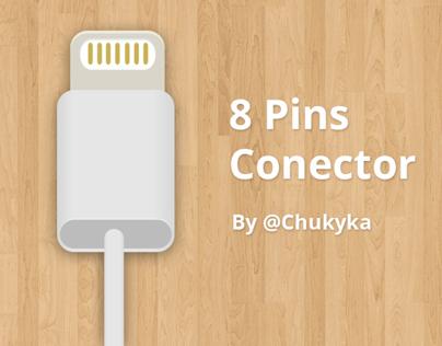 8 Pins Conector