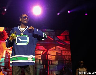 Snoop Dogg @ Rogers Arena - April 14,2017