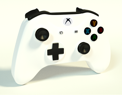 Controle Xbox One - 3D