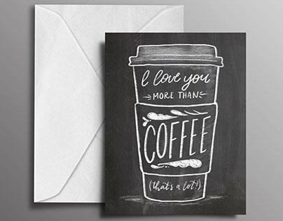 Handlettered Greeting Cards