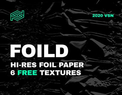 FOILD / Free Hi-Res Foil Texture Pack