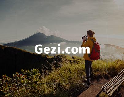 Gezi.com | Blog Design