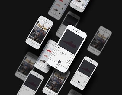 MDV Store, App design/UI/UX.