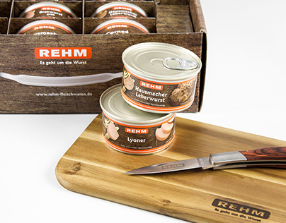 Rehm // Packaging Design