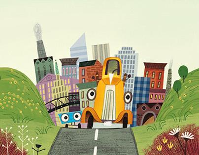 Little Truck's business trip