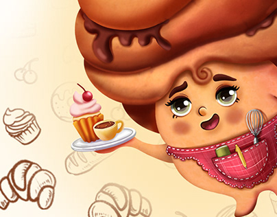 BRAND CHARACTERS FOR BAKERY