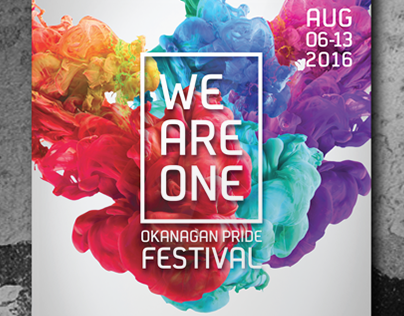 Okanagan Pride Festival Poster Series