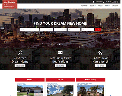 Florida New Homes - IDX Website
