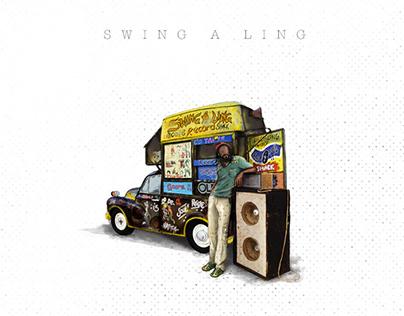 Swing a Ling - Digital Illustration