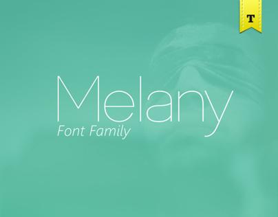 Font Melany