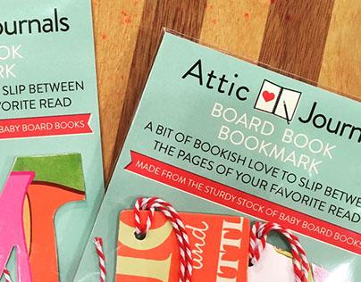 Attic Journals Branding/Packaging