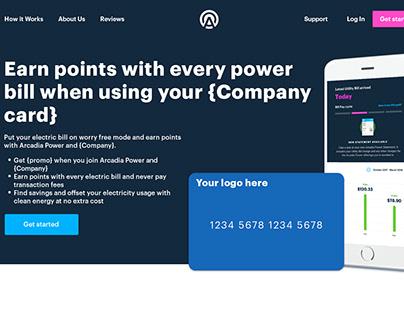 Landing Page | Partner CCs