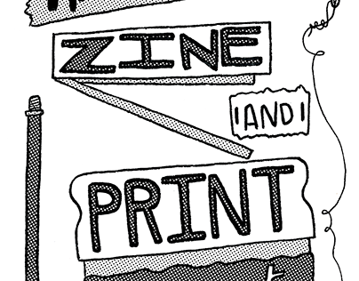 Hand-to-Hand Zine and Print Fest promo