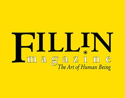Логотип интернет-магазина Fillin magazine