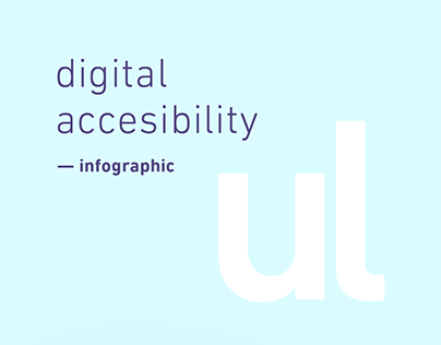 Digital accesibility infographic