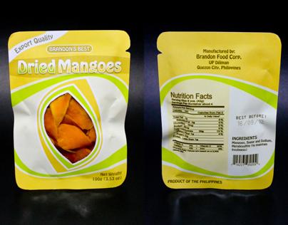 Brandon's Best Dried Mangoes