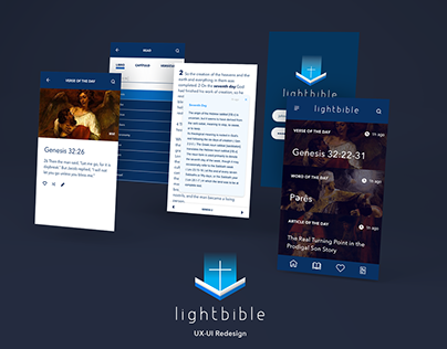 UX-UI Project: LightBible Redesign