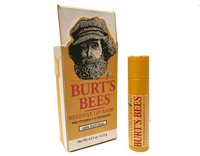 BURT'S BEES, Package re-design