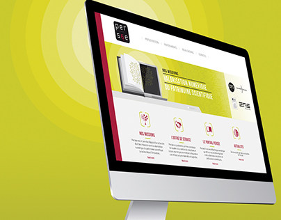 UMS-PERSEE - Web design