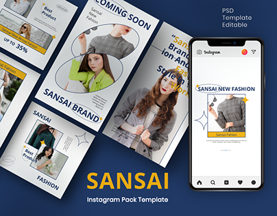 SANSAI Instagram Template