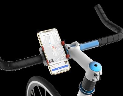 GRABIT... Phone Holder (Helps you navigate)