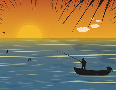 Sunset - Illustration