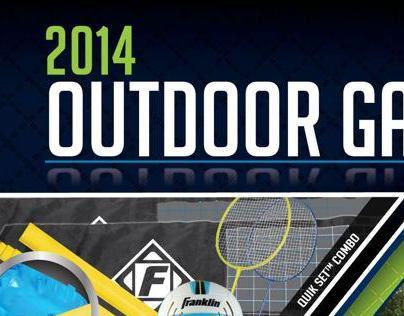 Franklin 2014 Outdoor Games catalog