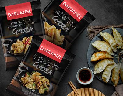 Dardanel Asian Food Gyoza Packaging
