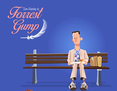 forrest gump illustrations