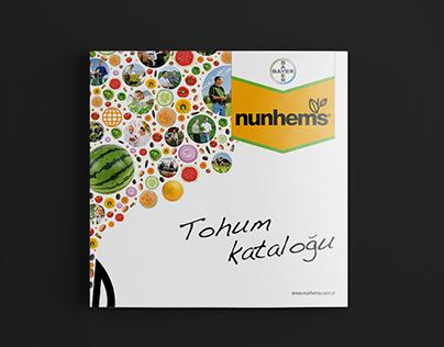 Seed Catalogue 2016 for Nunhems Turkey