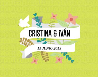 Cris & Iván Wedding Design