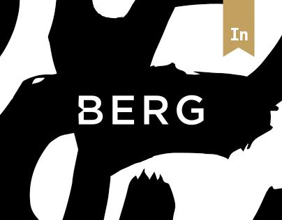 BERG - restaurant web layout
