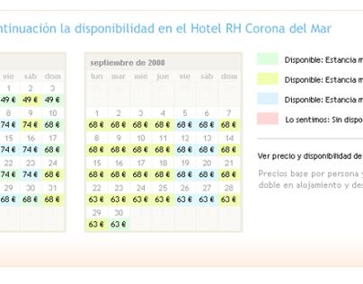 2010 - RH Booking Site