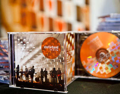 ShofarBand CD Cover Design 2012