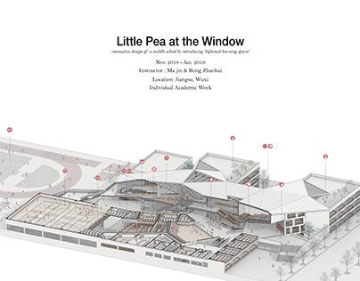 Little Pea at the Window | School Design