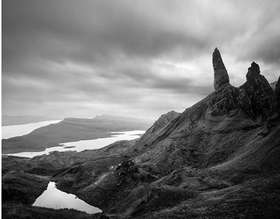 A rainy season: from Scottish Highlands to Isle of Skye