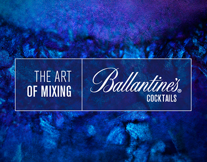 Ballantine´s Cocktails - The Art of Mixing