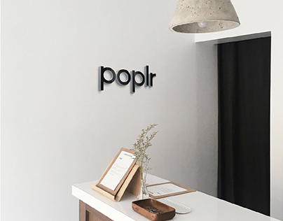 Poplr - Branding