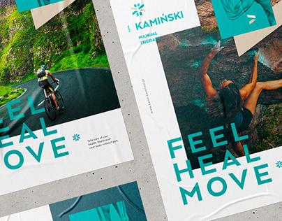 Kamil Kaminski Manual Therapy branding