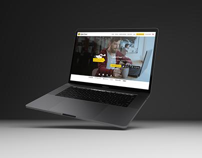 Cyberghost website design